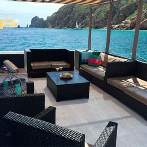 Moderno catamaran en renta en Los Cabos