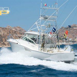 Renta de Yate equipado para Pescar en Los Cabos