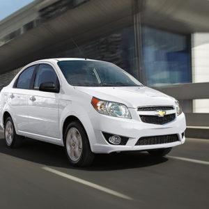 Renta un Automovil Chevrolet Aveo en los Cabos San Lucas
