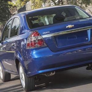 Renta un carro Chevrolet Aveo en los Cabos San Lucas