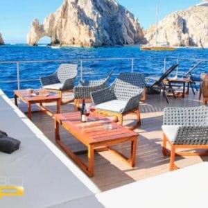 Renta de Catamarán Loft VIP en Los Cabos